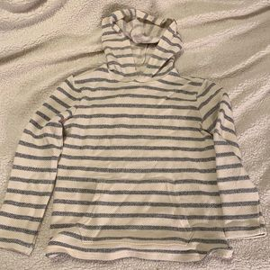 Old Navy Striped Pull Over Hoodie